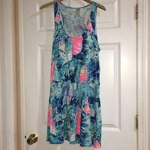 Lily Pulitzer summer dress with smocking